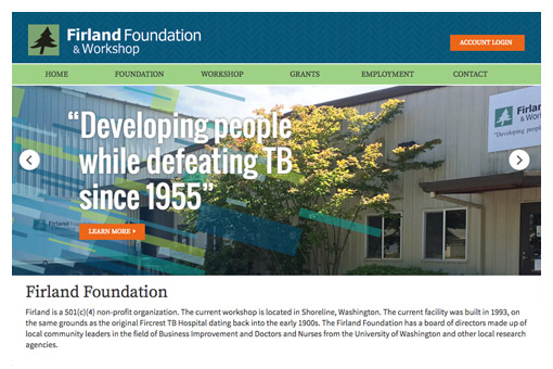 Firland Foundation web site